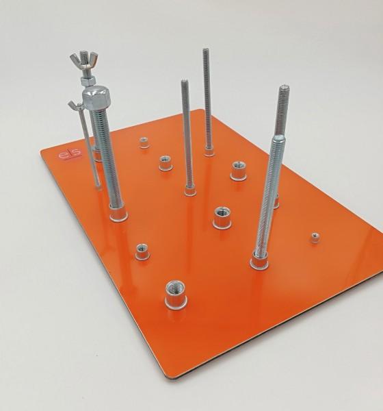 Koordinationstrainer für die Feinmotorik Schraube